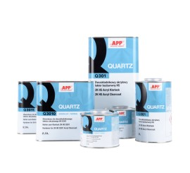 APP QUARTZ Acrylic Clearcoat 5.0L with Hardener 2.5L