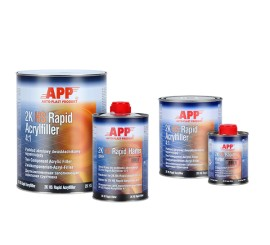 Rapid Acrylfiller 4:1 2K with Hardener