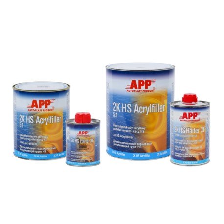 Acrylfiller 5:1 2K with Hardener