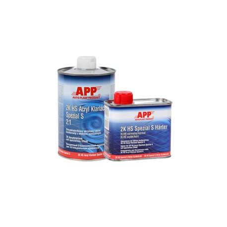 APP Spezial S Acrylic Clear Coat 1.0L with Hardener 0.5L