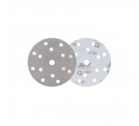 APP Quartz Q401 Sanding disc on the film 14+1 P80 10PC