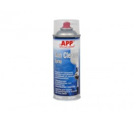 APP Gun Cleaner Spray 400ml, Preparation for gun cleaning after conventional lacquers