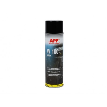 Spray Wax mass to protect the chassis Anthracite 500ml