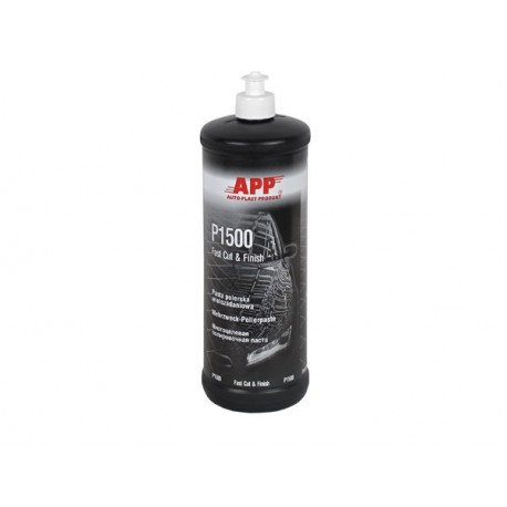APP P1500 Fast Cut & FINISH 1kg, Polishing compound multitasking
