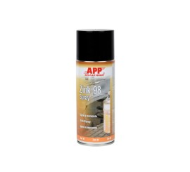 APP Zink 98 Spray Gris 400ML, Spray zinc