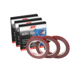 APP Acryl Tape 9mm x 5M, Double-sided adhesive tape