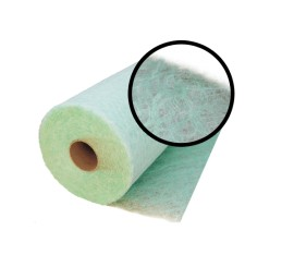 APP FP 25 green-white 0.86x25M, Floor paint booth filter 3 inches