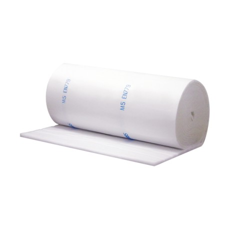 APP V 500 Blanc 1.5x20M, Filter Ceiling paint booths