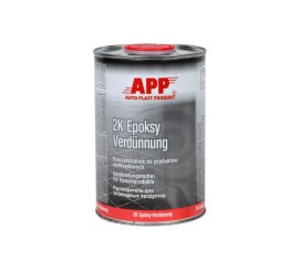 APP 2K Epoksy Verdünnung Thinner for epoxy products 1,0L