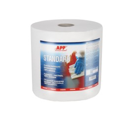 APP Standard CT White 244m, Technical cleaning rags bilayer
