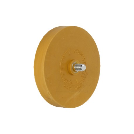 Disc for removing double-sided adhesive tape