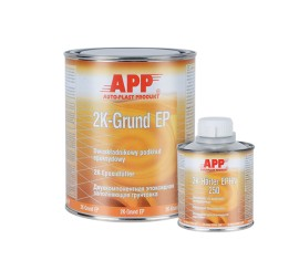 Epoxy filler 2K- LIGHT GRAY 1,00Kg + Hardener