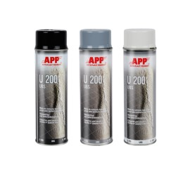 APP U200 Spray - Anti gravillon | noir | 0,50l